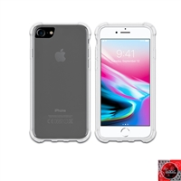 iPhone 6 / 7 / 8 Crystal Clear White TPU Case
