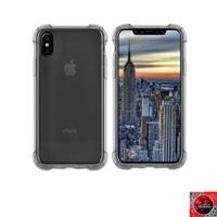 iPhone X Crystal Clear Smoke TPU Case