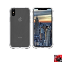 iPhone X Crystal Clear White TPU Case