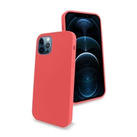 iPhone 12/ iPhone 12 Pro Liquid Silicone Gel Skin Case Pink