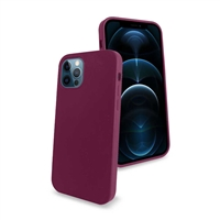 iPhone 12/ iPhone 12 Pro Liquid Silicone Gel Skin Case Purple