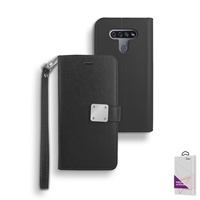 LG K51 Double Folio Leather wallet case,