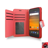 ZTE Blade Force N9517 Boost Mobile Double Folio wallet case,