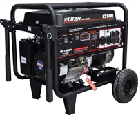 Lifan Platinum Series 8,750-Watt 420cc 15 MHP Gasoline Powered Electric Start Clean Power Portable Generator LF8750iEPL