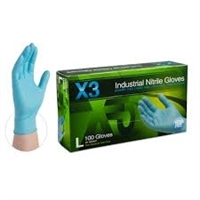 AMMEX Xtreme Nitrile Powder Free Gloves X3 3mil - Large