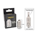 Aspire Mini Nautilus Replacement Glass with Hollowed Sleeve