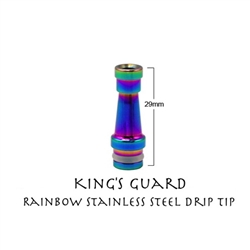 The King's Guard Stainless Steel Drip Tip