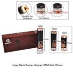 HCigar Black Copper Stingray 18650 Mod (Clone)
