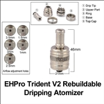 EHPro Trident V2 Clone Rebuildable Dripping Atomizer