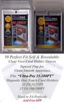 Perfect Fit Ultra Pro One Touch Magnetic Card Holder Sleeves 35-180 PT