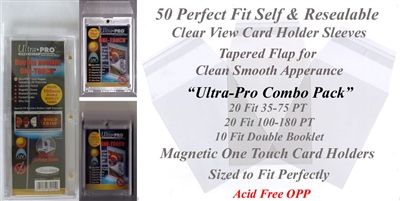 Perfect Fit Ultra-Pro Combo Pack of Mag Sleeves