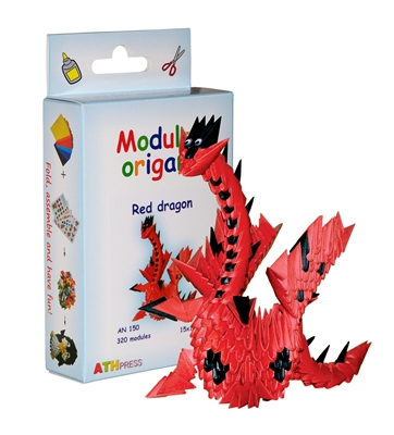 Modular Origami Kit - Red Dragon