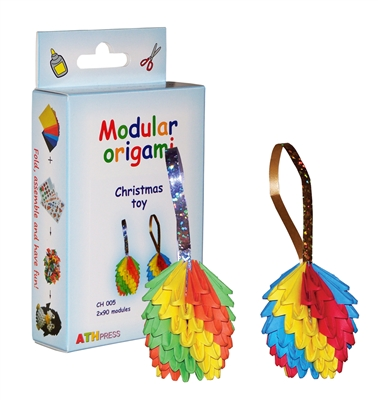Modular Origami Kit - Christmas Toy