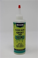 Beacon, clear, slime, glue, adhesive, mix