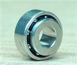 3 x 7 x 2.5 Outer Ring / 3.34 Flanged Inner Ring / Smooth / Radial / Steel