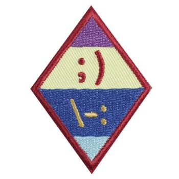 cadette   netiquette badge