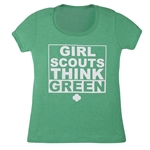 Girl Scouts Think Green T-Shirt