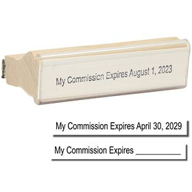 Regular Commision Expiration Stamp
