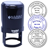 Self Inking Stamp of Notary Public Seal