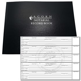 Official Notary Public Record Book