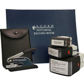 Soft Pocket Seal Deluxe Notary Package with S/I Stamps