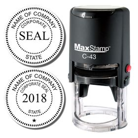 Self Inking Corporate Stamp Seal