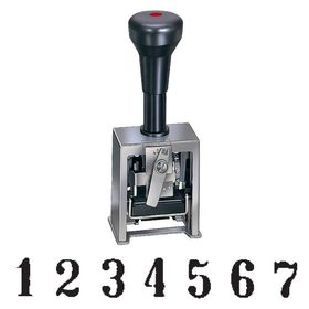 7 Wheel Numbering Stamp Machine Model 18-7