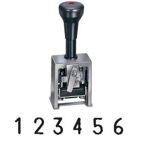 6 Digit Numbering Machine Model 19