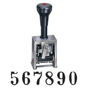6 Wheel Numbering Machine Model 316