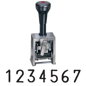 7 Wheel Numbering Machine Model 319