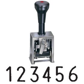 6 Digit Numbering Machine Model 733