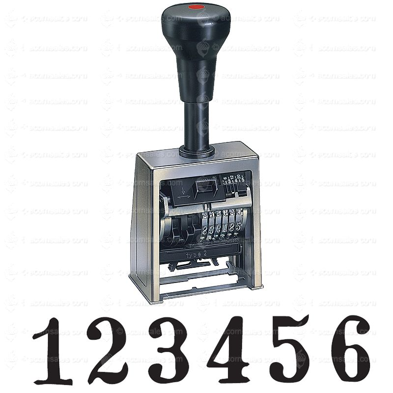 cosco automatic numbering machine instructions