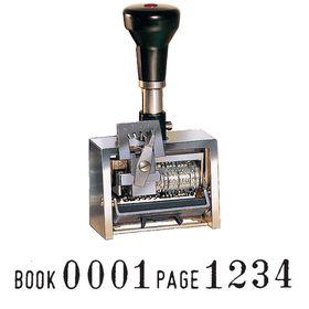 Book and Page Number Machine