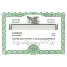 Goes No. KG2 Stock Certificate