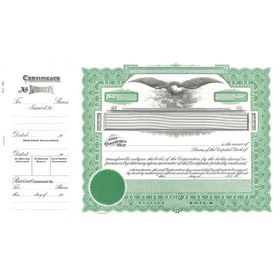 Goes 196 Capital Stock Certificate