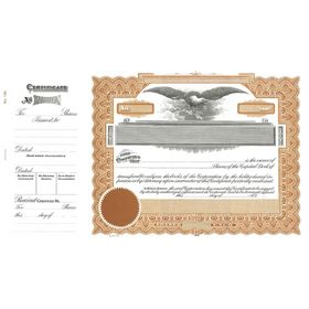 Goes 195 Capital Stock Certificate