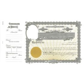 Goes 46 Corporate Certificate