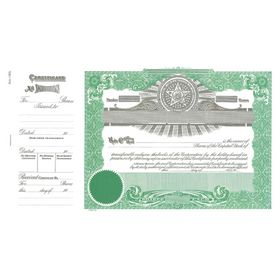 Goes No. 150 Stock Certificate