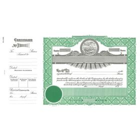 Goes No. 199 Stock Certificate