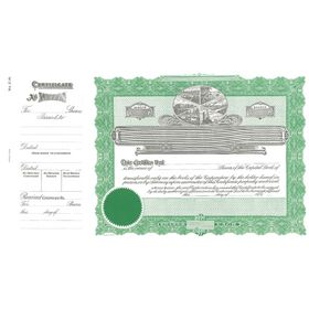 Goes 214 Stock Certificate