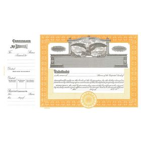 Goes 365 Stock Certificate