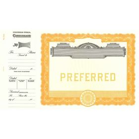 Goes 503 Preferred Stock Certificate