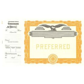 Goes 513 Preferred Stock Certificate