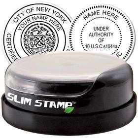 Professional Slim Pre-Inked Rubber Stamp of Seal