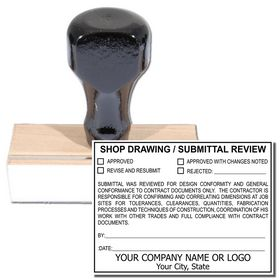 Regular Customized Review Stamp