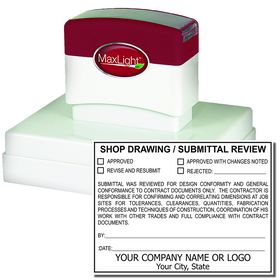 Pre Inked Customized Review Stamp