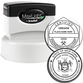 Engineering Geologist MaxLight Pre Inked Rubber Stamp of Seal