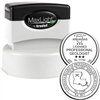 Geologist MaxLight Pre Inked Rubber Stamp of Seal