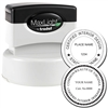Interior Designer MaxLight Pre Inked Rubber Stamp of Seal