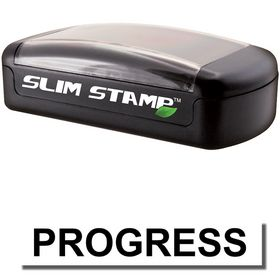 Slim Pre-Inked Progress Stamp